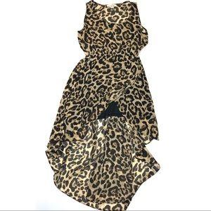 Anthropologie Sans Souci Large Dress Hi Low